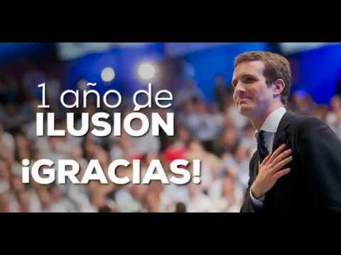 Hoy se cumple #1AñoDeIlusión