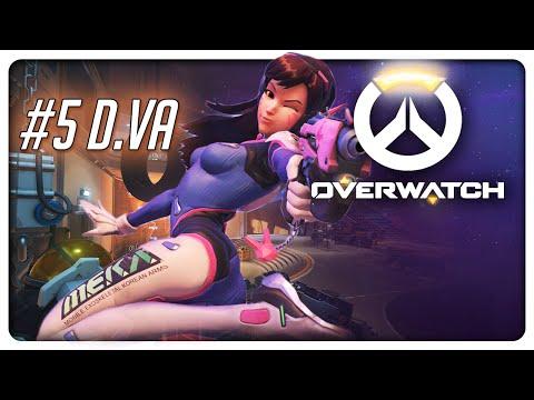NIEUWE HEROES! - Overwatch - #5 (видео)