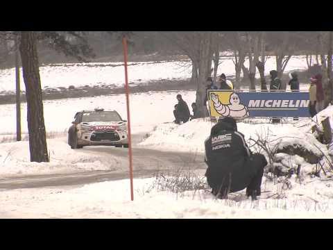 Vídeo crash Loeb y resumen 2ª jornada WRC Rallye Montecarlo 2015 by Citroën Racing