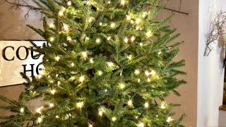 Download Video How To Put Lights On A Christmas Tree Video - Christmas Tree Decorating Tips MP3 3GP MP4