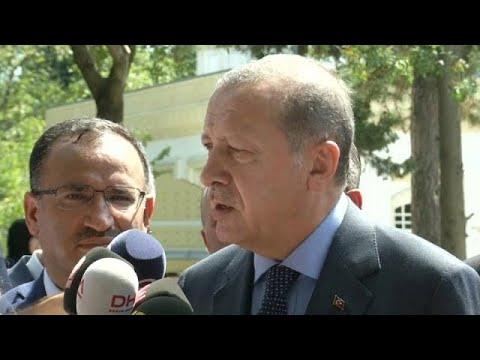 «Οδηγία» Ερντογάν σε Τούρκους ψηφοφόρους να καταψηφίσουν τη Μέρκελ