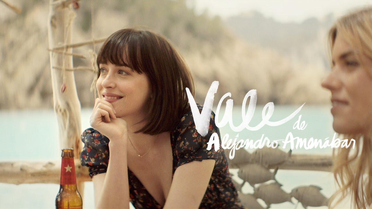 """Vale"" con Dakota Johnson y Quim Gutiérrez, dirigida por Alejandro Amenábar. Estrella Damm 2015."