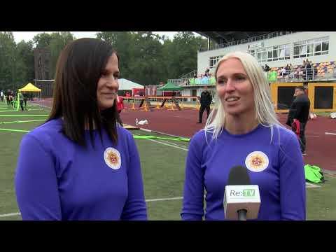 Latvijas čempionāts ugunsdzēsības sportā Valkā