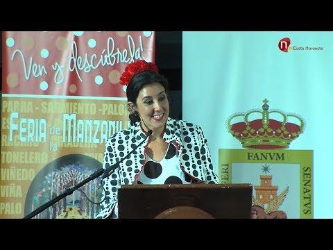 XXX Pregón de la Manzanilla 2017, Laura Vital