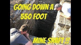 Searching For Bodies in a 550 foot  deep Mexican Mine Shaft and weird unexplained sounds!