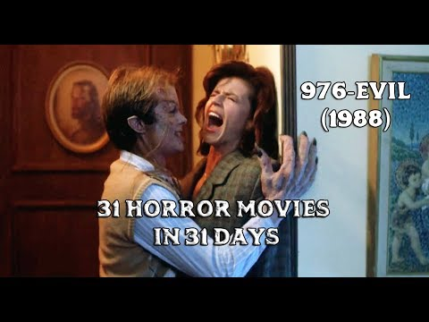 [UPDATE] 976-Evil (1988) - 31 Horror Movies in 31 Days