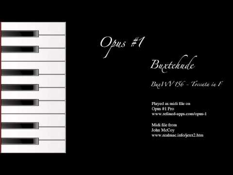 Video of Opus #1 Free - The Pipe Organ