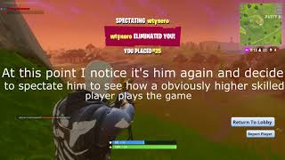 Fortnite: Battle Royale Cheater wtynero
