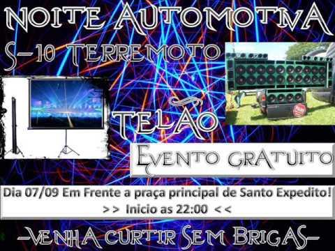 Vinheta noite automotiva em Santo Expedito 07/09/2013