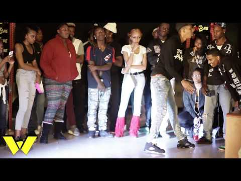 DaWarZone DANCE BATTLE: RASHAD vs. QUIS (Footwork Battle)