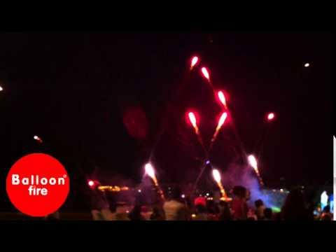 Εκδήλωση πυροτεχνήματα Επακρον Ρουκετάκια
