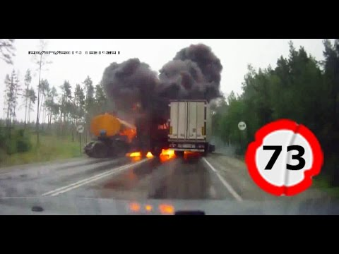 Car Crash Compilation # 73 || �������� ��� � ������ ���� 2014