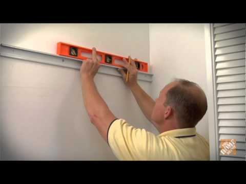 Cómo instalar repisas de alambre
