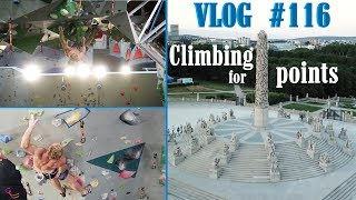 CLIMBING FOR POINTS | VLOG #116 by Magnus Midtbø