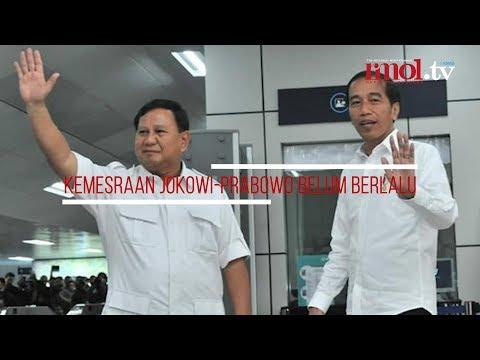Kemesraan Jokowi-Prabowo Belum Berlalu