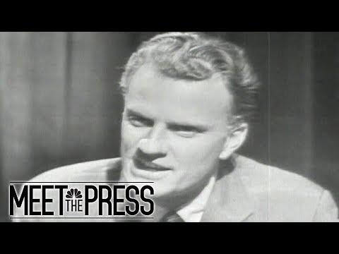 Remembering Reverend Billy Graham On Meet The Press | Meet The Press | NBC News (видео)