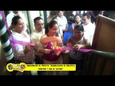 Proyecto Rehabilitación de Biblioteca Adolfo Vargas R. y Casa de Cultura, Ocotal Nueva Segovia