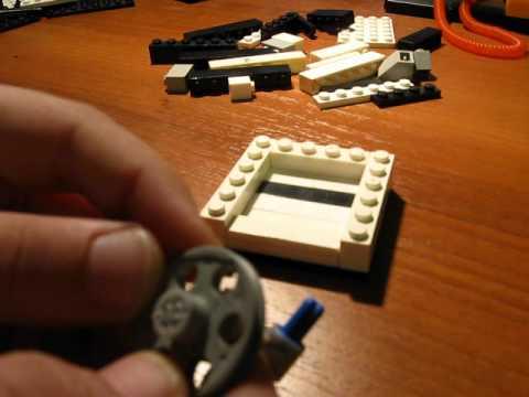Как из лего сделать сейф с кодовым замком видео