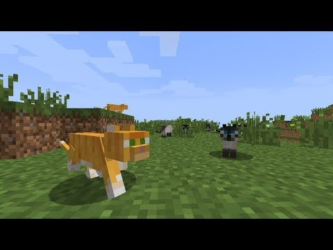 MineCraft 1.2 Ocelot Cat Breeding Farm