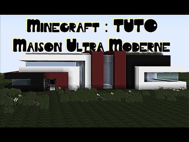 Minecraft Tuto Maison Ultra Moderne S