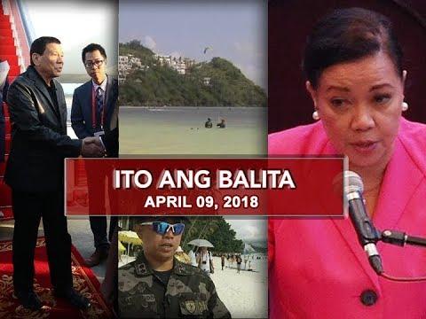 UNTV: Ito Ang Balita (April 9, 2018)
