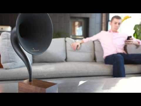 Seducing Vintage Sounds   World's First Bluetooth Gramophone
