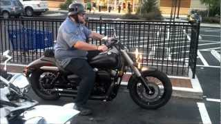 10. Honda Shadow Phantom with a Vance & Hines exhaust