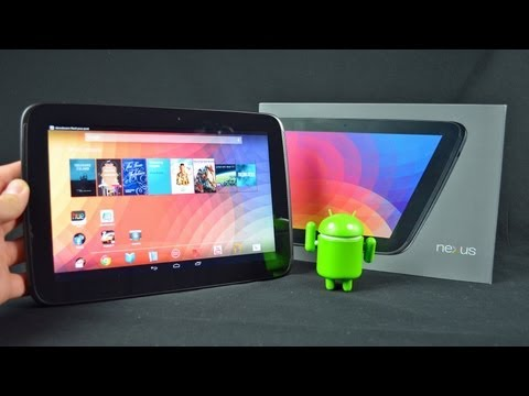 DetroitBORG - Detailed unboxing and review of the impressive Nexus 10 tablet with a high-res display. I also walkthrough many of the new Android 4.2 features unique to the...