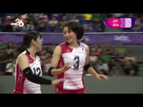 Japon Vs Brasil / 3 Set / Mundial Sub 20 (2019)
