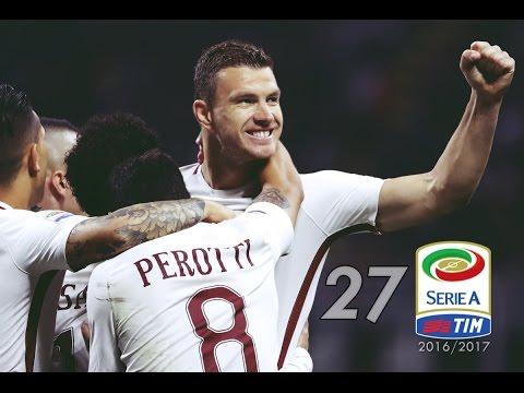 Edin Džeko all goals - Serie A - 2016/2017 | 1080i HD
