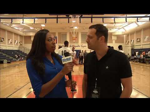Global basketball summer league interview