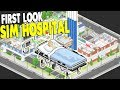 NEW DOCTOR SIMULATOR, BUILDING FIRST CLINIC | Project Hospital Gameplay
