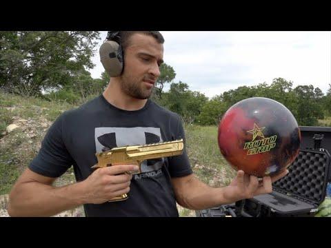 Desert Eagle vs Bowling Ball