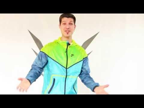 Nike Windrunner Jacke - falten Trick + Extrem Test