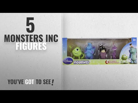 Top 10 Monsters Inc Figures [2018]: Beverly Hills Teddy Bear Company Monsters Inc. Toy Figure,