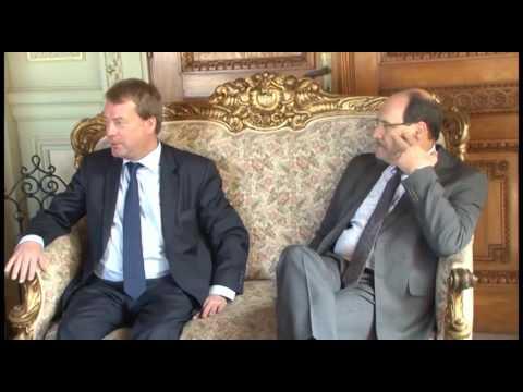 Governador recebe embaixador alemão e estreita relações com o país