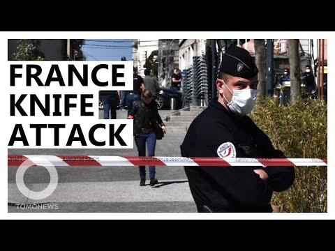 France opens terrorism probe after stabbing spree - TomoNews