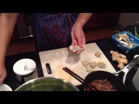 My Chinese Recipes  Wonton Soup Recipe! Mom's Homemade Recipe!