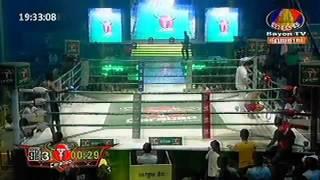 Khmer Boxing International 2015, Bayon Tv Boxing 2015, 01 Feb 2015, Pich Seyha Vs USA