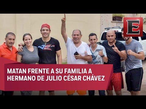 Matan a balazos a hermano de Julio César Chávez