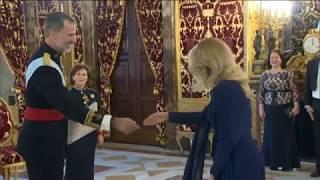 La nueva embajadora de Moldavia entrega cartas credenciales a S.M. el Rey