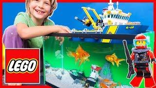 Video Lego City REAL FISH Deep Sea Exploration Vessel Adventure MP3, 3GP, MP4, WEBM, AVI, FLV Februari 2019