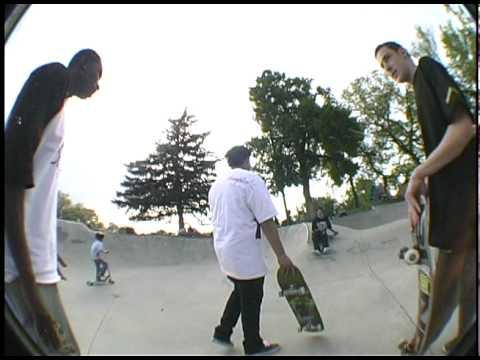 Salt Lake City Skatepark Montage