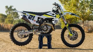 5. Racer X Films: 2018 Husqvarna Rockstar Factory Edition FC 450 First Impression