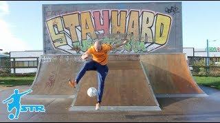 Daniel Cutting Freestyle Footballer  - 4 X Guinness World Record Holder