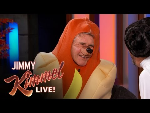 Harrison Ford Talks About Star Wars The Force Awakens  in a Hotdog