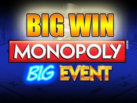Online slots HUGE WIN 20 euro bet – Monopoly Big Event BIG WIN