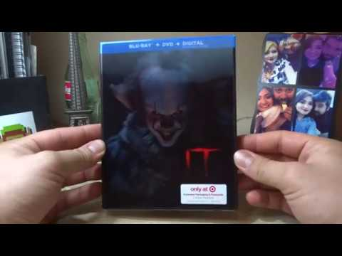 It 2017 Blu-ray UNBOXING
