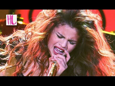 Ball - Selena Gomez curses and storms off stage at the KISS FM's Jingle Ball holiday concert 2013 after the backing track malfunctioned revealed she was lip syncing...