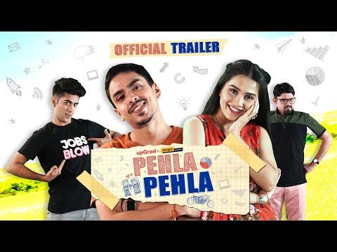 Pehla Pehla - Official Trailer | Mini Web Series | Anushka Sharma, Adarsh Gourav & Ritik | Alright!